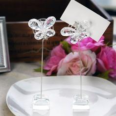 Schmetterling Kristall Platz-Kartenhalter (Set von 2) (051024913)