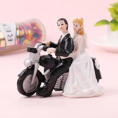 Coppia Classic/Sposa e Sposo Resina Decorazioni per torte (Venduto in un unico pezzo) (119187414)