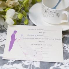 & brudgum stil Enkla kort Inbjudningskort (Sats om 50) (114063996)