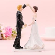 Coppia Classic/Amore è dolce Resina Decorazioni per torte (Venduto in un unico pezzo) (119187415)