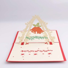 Three-dimensional Merry Christmas Greeting Cards (114059166)