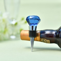 Classic Crystal Diamond Crystal Bottle Stopper (051205426)