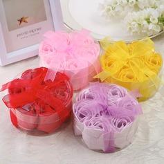 7 Piezas Bonito Rose Jabones con Cintas (051053273)