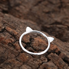 Legering Unique Alloy Cat Ear Women's Fashion Rings Gaver (129140575)