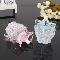 Dolce Amore/Creativo A Forma di Bottiglia Plastica Barattoli e Bottiglie con Ricami (set di 12) (050166444)