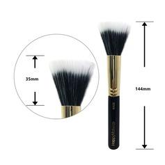 Artificial Fibre/Natural Goat Hair Makeup Supply (046129017)