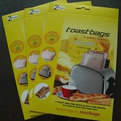 Moderno Clássico Non Stick Reuseable Toaster Bags para Sandwich e Grelhar (Conjunto de 2) Não Personalizado Presentes (129140474)