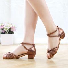 Frauen Microfaser-Leder Heels Sandalen Latin Tanzschuhe (053121198)
