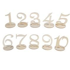 Stile classico Attraente Legno Accessori decorativi (Set di 10) (131156876)
