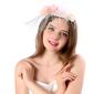 Ladies ' Smukke/Gorgeous/Efterspurgte/Særlige Linned med Blomst Fascinators (196139408)