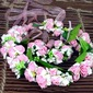 Eenvoudige en Elegante Ronde Satijn hoofddeksel Flower (123062549)