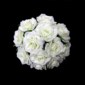 Comely Round Satin Bridesmaid Bouquets (123031482)