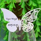 Butterfly Design Pearl Paper Place Cards (set of 12) (131037410)