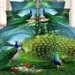 Traditionnel / Classique Polyester Couettes (4pcs: 1 housse de couette 1 drap plat 2 Shams) (203084272)
