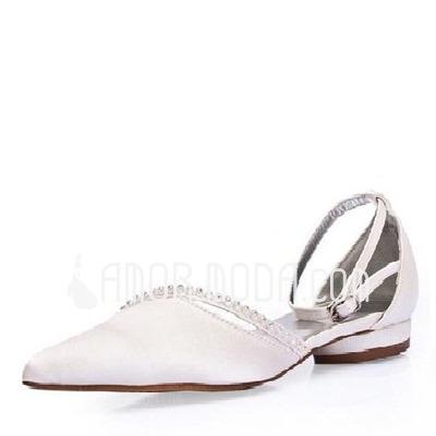 magasin d'usine 6db42 327ac chaussures mariage talon plat