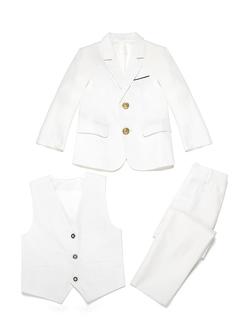 Boys 3 Pieces Elegant Ring Bearer Suits /Page Boy Suits With Jacket Vest Pants (287199768)