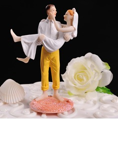 Figurine Classic Couple Resin Wedding Cake Topper (119057801)