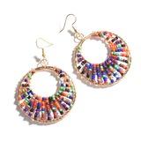 Alloy Beads Women's Fashion Earrings (137192479)
