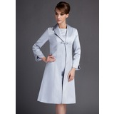 Long Sleeve Satin Special Occasion Wrap (013012444)