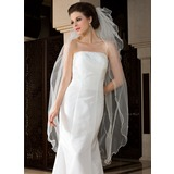 Three-tier Waltz Bridal Veils With Scalloped Edge (006036619)