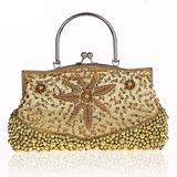 Fashionable Silk Clutches/Wristlets/Satchel/Top Handle (012025210)