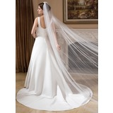 One-tier Cut Edge Cathedral Bridal Veils (006024553)