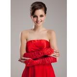 Elastic Satin Elbow Length Party/Fashion Gloves/Bridal Gloves (014020469)