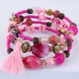 Classic Alloy Resin Women's Fashion Bracelets (Sold in a single piece) (137190133)