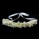 Lovely Satin Flowers & Feathers (042025245)