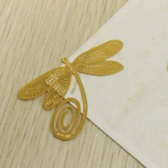 Dragonfly Design Zinc Alloy Bookmarks (051024151)