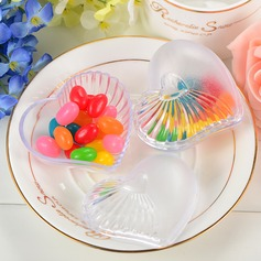 Translucent Heart-shaped Favor Boxes (Set of 12) (050053224)