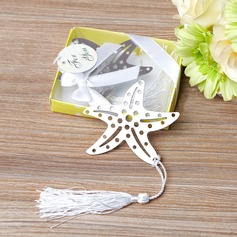 Starfish Stainless Steel Bookmarks With Tassel (051042967)