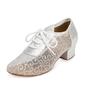 Women's Fabric Sandals Swing Practice Dance Shoes (053095148)
