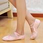 Kids' Canvas Flats Ballet Belly Dance Shoes (053048832)
